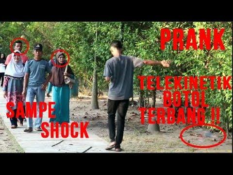 SUPER POWER PRANK ,BOTOL TERBANG !!Prank Indonesia