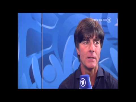 Deutschland - WM Deutschland gegen Argentinien 1 - 0 FINALE WM 2014 INTERVIEW Joachim Löw World Cup Germany vs Argentina 1-0 World Cup 2014 FINAL INTERVIEW Joachim Löw.