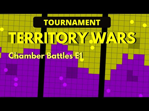 Territory Wars Tournament - Marble Race in Algodoo  - Qualifiers E1
