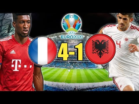 FRANCIA-ALBANIA 4-1 HIGHLIGHTS SUPER COMAN