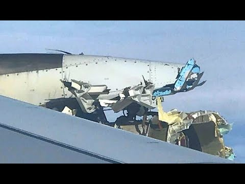 Massive airplane loses engine above N Atlantic flying from Paris to LA