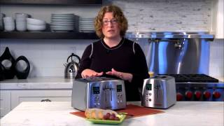 4-Slice Countdown Metal Toaster Demo Video Icon