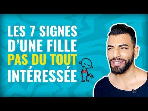 💔 LES 7 SIGNES QUI MONTRENT QU'UNE FILLE N'EST *PAS* INTÉRESSÉE (50/100) (видео)