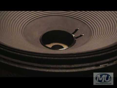Reconing a Speaker Part 2 (JBL MP418 Subwoofer)