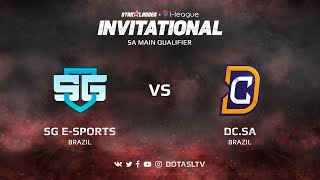 SG e-Sports против Digital Chaos SA, Первая карта, SA квалификация SL i-League Invitational S3