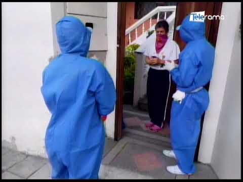 Personal médico del IESS realiza visitas domiciliarias en Santo Domingo