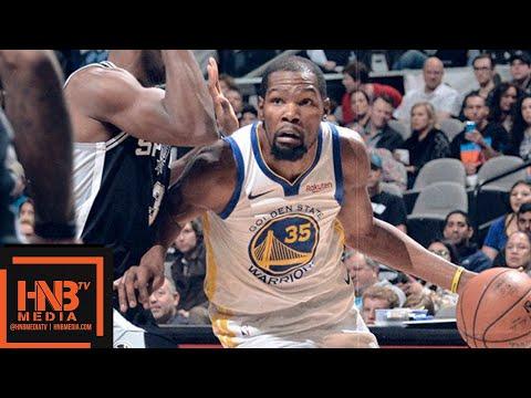 Golden State Warriors vs San Antonio Spurs Full Game Highlights   11.18.2018, NBA Season