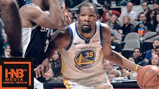 Golden State Warriors vs San Antonio Spurs Full Game Highlights | 11.18.2018, NBA Season