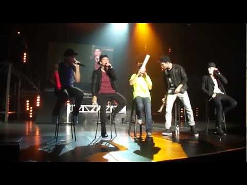 Big Time Rush Covergirl & Worldwide @ Sacramento Ca Better With U Tour 2-20-12