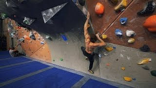 Over 1 Year Ago Since I Tried This Hard On A Bouldering Problem! by Eric Karlsson Bouldering