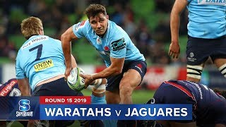 Waratahs v Jaguares Rd.15 2019 Super rugby video highlights | Super Rugby Video Highlights