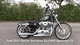 7. Super Clean 2015 Harley Davidson Sportster Seventy Two for sale
