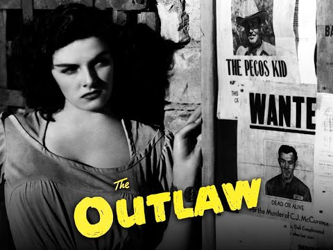 The Outlaw (1943)   Trailer   Jack Buetel   Thomas Mitchell   Jane Russell