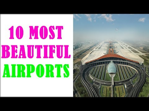 Top 10 beautiful airports in the world || Facts corner