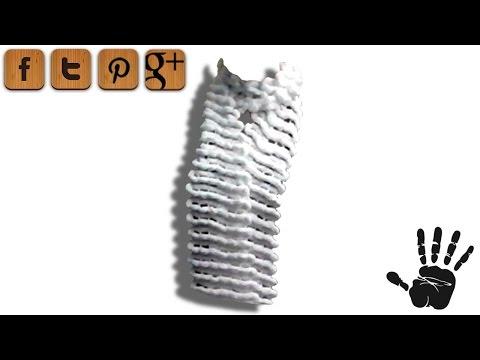 Anleitung: Pompon Puschel Schal stricken – kostenlose Strickanleitung
