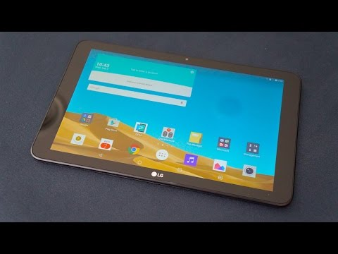 LG G Pad II Hands-On