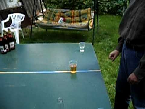 The End is SO FUNNY! Playing Beer Pong in Europe