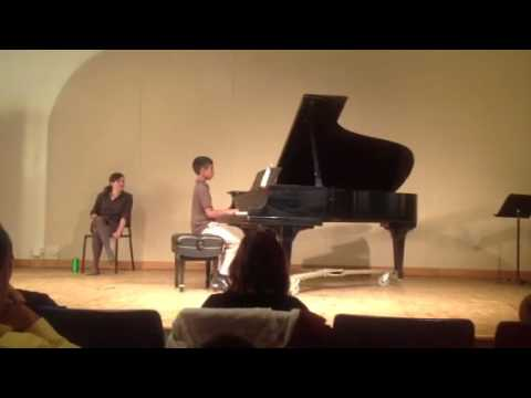 Caleb Piano Recital 5/11/13