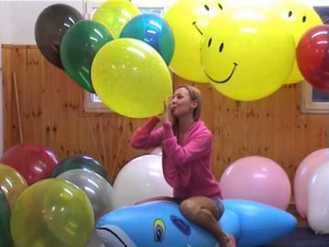 Balloon Fetish Looner   Gaia (видео)