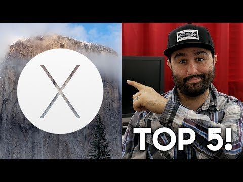 OSX - Top Five Features Of OS X Yosemite - Hands On!! (10.10) Hands on with OS X Yosemite & iOS 8 - Top 5 Features! Top 10 Hidden iOS 8 Features! http://youtu.be/_...