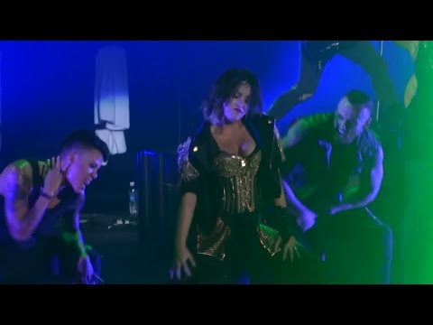 thriller - Demi Lovato performing a cover of Michael Jackson's Thriller and Got Dynamite live from the DEMI World Tour at Viejas Arena on the SDSU campus in San Diego, CA on September 28, 2014. This was...