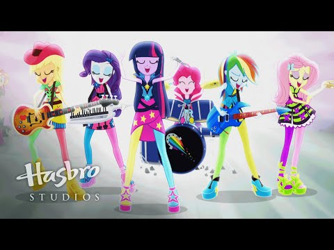 MLP: Equestria Girls Rainbow Rocks - Official Movie Trailer #1