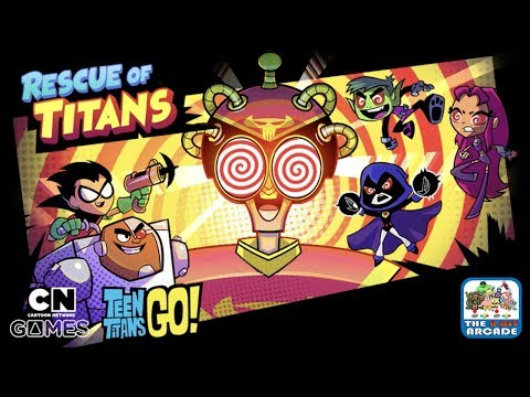 Teen Titans Go: Rescue of Titans - Take to the Skies to Save the Hypnotized Titans (CN Games)