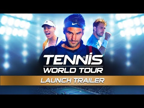 Trailer de lancement de Tennis World Tour