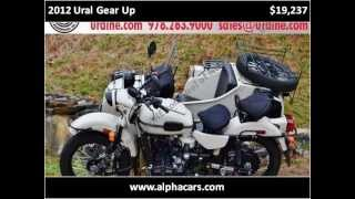 3. 2012 Ural Gear Up New Motorcycles Boxborough MA