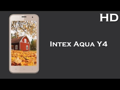 Intex Aqua Y4 comes with 4.5 Inch Display 1700mAh battery, 512MB RAM, Android 4.4 KitKat
