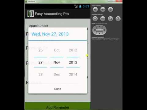 Video of Easy Accounting