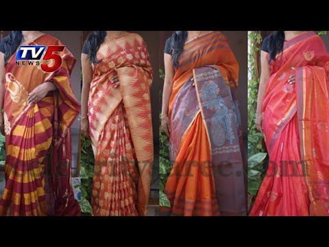 Gadwal Light weight Saree :  TV5 News