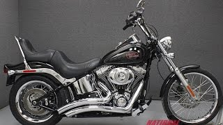 2. 2009  HARLEY DAVIDSON  FXSTC SOFTAIL CUSTOM - National Powersports Distributors