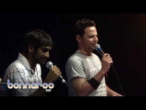 Aziz Ansari, Nick Kroll, and David Cross | Bonnaroo Comedy Tent | 