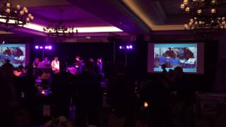 Paradigm Party Band Performs at the He Got Up Celebrity Gala Event with a surprise guest star appear