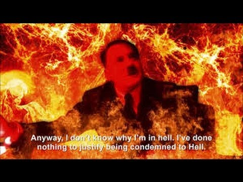 MAN SEES HITLER IN HELL BURNING ALIVE IN PRISON CELL