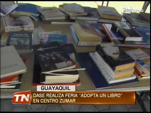 Dase realiza feria Adopta un Libro en centro Zumar