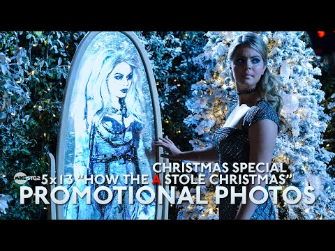 """Pretty Little Liars – 5×13 Promotional Photos – """"How the 'A' Stole Christmas"""" [Christmas Special]"""