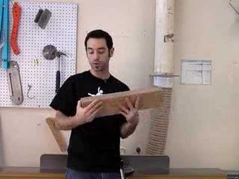 Woodworking - In this episode, I review one of the most critical and fundamental aspects of woodworking: milling lumber. I review my 4-step milling process, which requires...