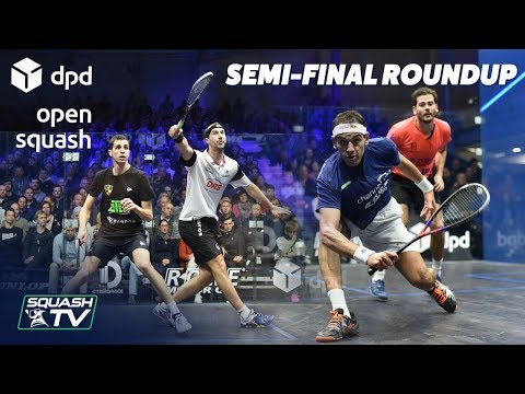 Squash: DPD Open 2019 - Men's Semi-Final Roundup