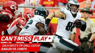 Zach Ertz's Incredible Heads Up Catch & Run! | Can't-Miss Play | NFL Wk 2 Highlights