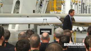 Video UK Prime Minister, David Cameron, at the New Bombardier Wing Facility MP3, 3GP, MP4, WEBM, AVI, FLV Oktober 2017