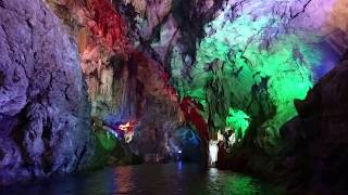 Xianning China  City pictures : 中國湖北咸寧隱水洞溶洞 The cave at Xianning, Hubei, China