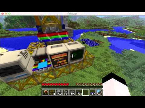 [Minecraft] RP2 Frame 從無到有打造一個自動挖礦機