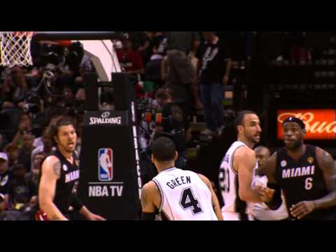 Danny Green Delivers for the Spurs in Game 5