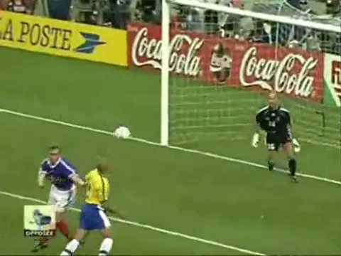 1998 Fifa World Cup Final, France VS Brazil..