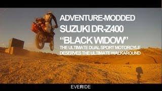 3. Adventure Modded Suzuki DRZ 400