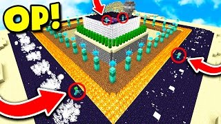 YOUTUBERS VS WORLD'S MOST DEFENDED HOUSE IN MINECRAFT! (Minecreaft Trolling)