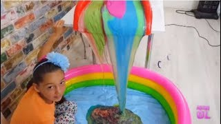 Video Giant Colored Waterfall Slime ( 60 Pounds ) MP3, 3GP, MP4, WEBM, AVI, FLV November 2017