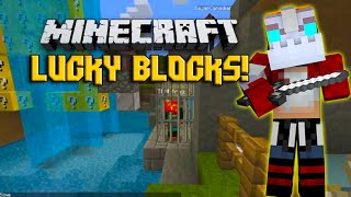 LUCKY BLOCKS MOD CASTLE CHALLENGE - MINECRAFT MODDED MINI-GAME!